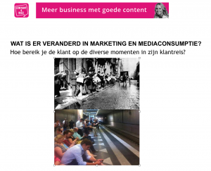 mediaconsumptie en content marketing